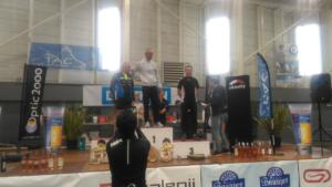 Alain podium